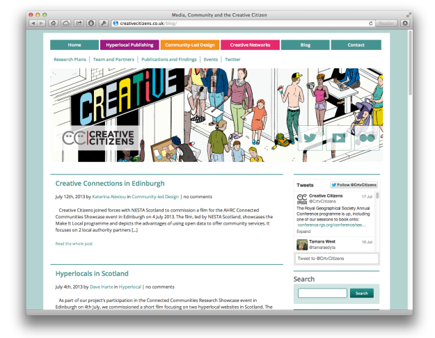 creativecitizens-website